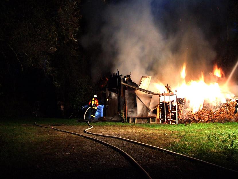 """Erneut Großbrand in der \""""Alten Ziegelei\"""""""