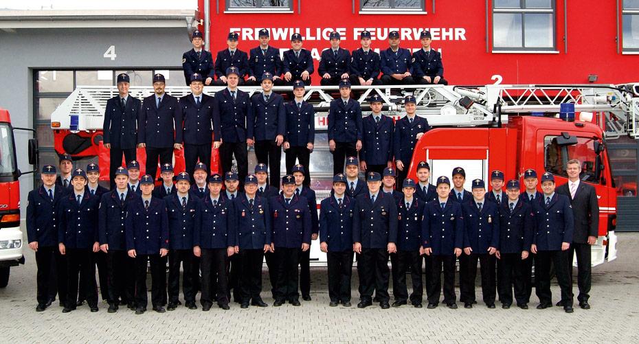 Die Einsatzabteilung der Feuerwehr Breisach, Abteilung Kernstadt