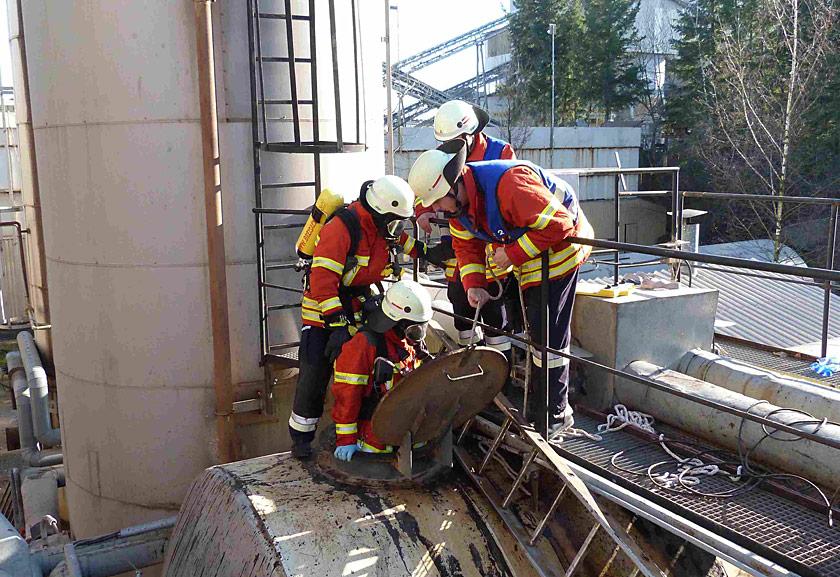 Arbeitsunfall in Niederrimsingen